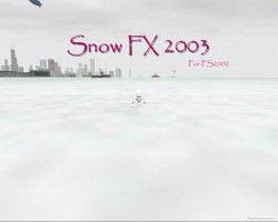 Improved Snow Effects FS2002 image 1