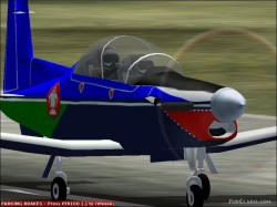 Repaint Texan II fictional paint image 1