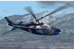 agusta a-109 medico repaint excelent image 1