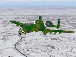 A-10A Thunderbolt FS2002/FS2004 version - image 1