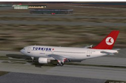 Fs2002 Turkish Airlines Airbus A310-304 image 1