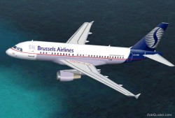 Fs2002 A319 Sn Brussels Airlines Features image 1