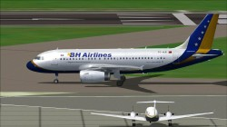 Project Airbus A319-112 B&H Airlines image 1