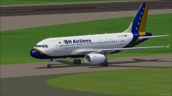 Project Airbus A319-112 B&H Airlines image 2