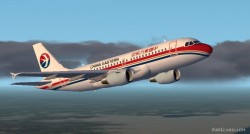 Fs2002 Airbus A319 China Eastern Airlines Frame image 1