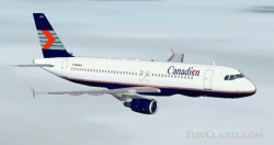 Fs2002 Airbus A320-200 Canadian Airlines Two image 1