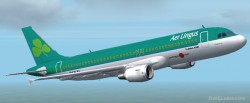Fs2002 Airbus A320/a321 Aer Lingus Frame Rate image 1