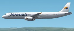 Fs2002 Airbus A320/a321 Spanair Two Frame Rate image 1