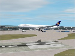 Fs2002 A330-300 Lufthansa Version 1.0 Project image 1