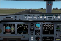 FS2002 Airbus A-340 Panel Version 3 image 1