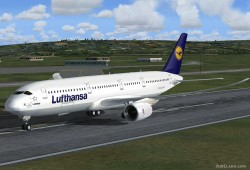 Airbus A350 Lufthansa FSX Demoversion image 2
