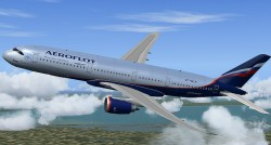 Airbus A350 Aeroflot FSX Demoversion image 3