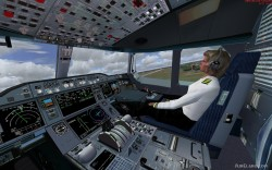 Airbus A350 Lufthansa FSX Demoversion image 7