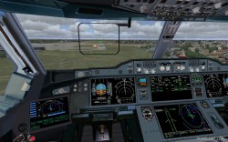 Airbus A350 Lufthansa FSX Demoversion image 3