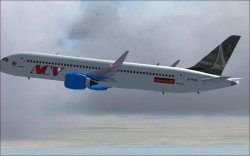 FS2004 ACV Airbus A360 concept plane CamSim image 1