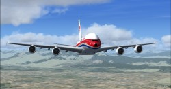 FSX A380-800 China Eastern Airlines B-6119 image 2