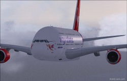 FSX A380-800 Virgin Atlantic Airways G-VMEG image 1