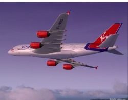 FSX A380-800 Virgin Atlantic Airways G-VMEG image 4