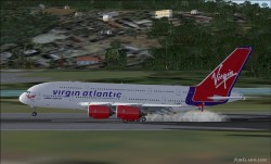 FSX A380-800 Virgin Atlantic Airways G-VMEG image 6