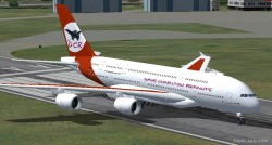 FS2004 Airbus A380-800 High quality Gmax model image 1