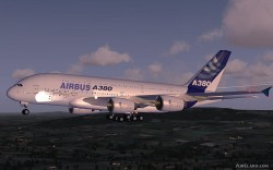 Airbus A380 Lufthansa FSX Demoversion image 4
