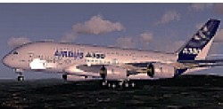 FSX Airbus A380 v2 Industries House Demo image 2