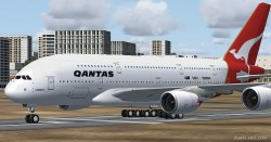 Airbus A380 Emirates Airlines FSX image 4