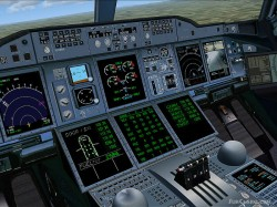 Airbus A380 Emirates Airlines FSX image 3