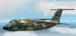 exclusively Fs2002 Bae 146-200 Strategic image 1