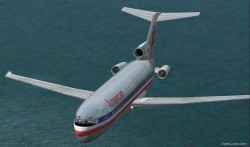 [texture] FS2002 Boeing 727-200 American 2000 image 1