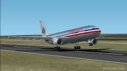 Fs2002 American Airlines Airbus A300-600r Full image 1