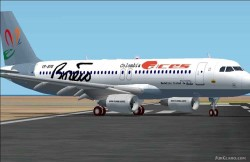 Fs2002 Airbus A320-200 New Model Designed image 1