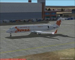 Pos Air Canada Jazz Crj-200-er Orange Project image 1