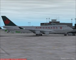 FS2002 Meljet Air Canada 747-475 Version III image 1