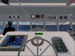 FS2004/FS2002 Panel with views image 1