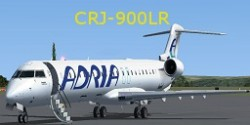 FS2004/FSX Adria Airways CRJ-900LR image 3