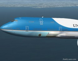 Boeing 747-8 Air Force One image 1