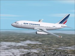 Fs2002 Boeing 737-200 Air France Colors image 1