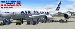 FS2004/FSX Air France A380-800 Air France image 1