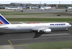 FS2004 Air France Boeing 767-400 image 1
