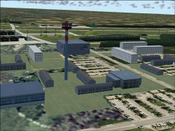 AFS-design: scenery Airport Rostock - Laage image 2