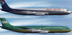 FS2004 - AI Boeing 707-320 Pacific Western image 1