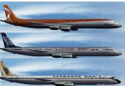 FS2004 - AI - DC-8-70 - CPAir Flying Tigers image 1