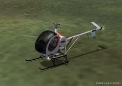 Schweizer 300C Helicopter AI image 1