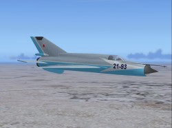 Russian Air Force Mig-21bis Demonstrator Ai image 1