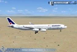 AIR ANATOLIA AIRBUS A340 fs2004 Model Posky image 2
