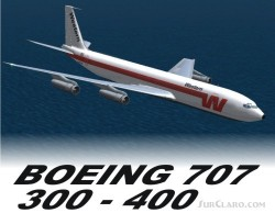 FSX/Flightsim FS2004/FS9 BOEING 707 COLLECTION image 3