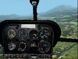 Fs2002 Helicopter Aerospatiale/sud Aviation image 1