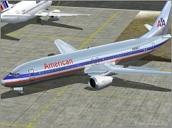 Replacement Textures American Airways Microsoft image 1