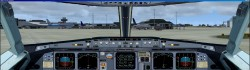 FS2004/FSX Airbus A319/A320 Panel V2 dual image 1